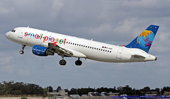 D-ASPI LMML 27-12-2017 (Burmarrad (Mark) Camenzuli Thank you for the 10.3) Tags: airline small planet airlines germany aircraft airbus a320214 registration daspi cn 1054 lmml 27122017
