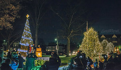 Nela Park Holiday Lighting 2017 (pyathia) Tags: nela park east cleveland christmas light lights display seasons greetings historic ohio location campus century 100 years old holiday lighting ceremony ge current powered by general electric interior drive through thru inside bill lacey ceo tree