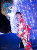 榎本奈里子 / SKYTREE TOWN (zaki.hmkc) Tags: 榎本奈里子 なりイベ タレント・モデル イベント tokyo 東京スカイツリー 夜景 着物 なりの道なり 撮影会 イルミネーション