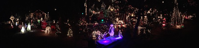 The Big Xmas Light Show in Strawberry