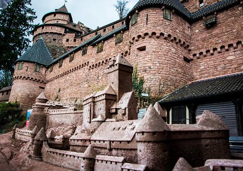 Alsace - Château du Haut-Kœnigsbourg
