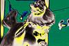 Alada (seguicollar) Tags: imagencreativa photomanipulación art arte artecreativo artedigital virginiaseguí figura escultura alas mujer cabeza puntillismo green verde amarillo yellow moño cinta cabello peinado tocado