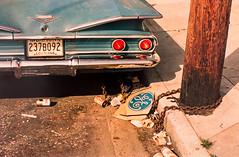 Untitled (Thomas Hawk) Tags: america bayarea california chevrolet eggleston ge losalamos pier24 pier24photography sfbayarea sanfrancisco usa unitedstates unitedstatesofamerica untitled westcoast williameggleston auto automobile car chain fav10 fav25 fav50