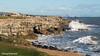 Red Crane (DougRobertson) Tags: portlandbill dorset redcrane coast water waves rocks sea seaside