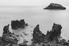 nibbles (Javy Nájera) Tags: cantabria cantábrico javynájera noja amanecer mar nubes olas playa rocas sunrise sea clouds waves beach rocks landscape