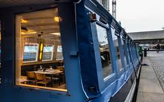 2017-11-18-0006 (Kevin Maschke) Tags: london fuji fujifilm fujifilmxt2 fujixt2 fujix city londoncity londonstreets explore exploring explorelondon boat river londonriver riverboat