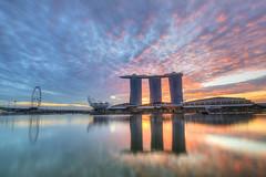 New Beginning ([~Bryan~]) Tags: newbeginning sunrise magicmoment marinabaysands marinabay singapore weather morning hotel reflection asia colourful bryanleung cityscape urbanlandscape city urban