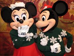 Minnie and Mickey Mouse (meeko_) Tags: minnie mickey mouse minniemouse mickeymouse characters disneycharacters christmas disneychristmas disneyholidays adventurersoutpost discoveryisland disneys animal kingdom disneysanimalkingdom themepark walt disney world waltdisneyword florida