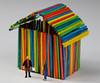 Yes Bob ... but wheres the door ! (kpce1960) Tags: stick sticks macromonday color house colour canon 7d preiser fun