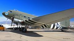 Douglas DC-3A-456 n° 9530 ~ N60480 (Aero.passion DBC-1) Tags: yanks air museum chino ca dbc1 david biscove aeropassion aircraft plane avion aviation collection usa california douglas dc3 c47 dakota ~ n60480