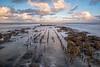 Early morning at the Belgian coast in Bredene (Roland B43) Tags: sunrise longexposure bredene belgium northsea