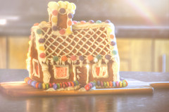 From my Home to Yours... (KissThePixel) Tags: gingerbread house baking bake cake biscuit cooking gingerbreadhouse ginger cinnamon home christmas myhome december tabletop tabletopphotography creative nikon stilllife stilllifephotography cottage