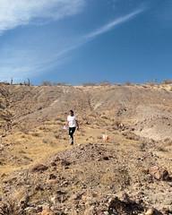 029 Shallow Bowl Control (saschmitz_earthlink_net) Tags: 2017 california orienteering redrockcanyon statepark laoc losangelesorienteeringclub mojavedesert desert kerncounty elpasorange