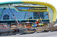 Milwaukee Bucks New Arena Under Construction Milwaukee Wisconsin 12-20-17  9003 (www.cemillerphotography.com) Tags: rich poor massincarceration racism mentallyill violence paroleofficer billionaires profits stadium sports basketball humanrights torture solitaryconfinement prison revocation jail bail mistreatment dueprocess law legal court overcrowding africanamericans blacks force lockdown penalsystem discrimination wealth poverty probation arrested crime