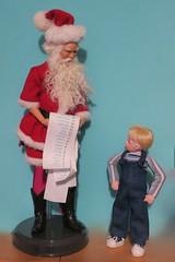 """I want a second opinion!"" (Dazi May) Tags: santa wildflower doll kinder kid"