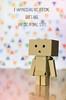 danboo (olgabrezhneva) Tags: danboard amazon japan toys danbo revoltech minifigure toy plastic figure figurine minifigurine figures dollphotographer dollphotography toypics toyphotographer miniature danboo card gift