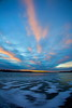 _MG_9806bb (stevenbulman44) Tags: canon calgary reservoir alberta autumn ice blue sky pink cloud 1740f40l sunset