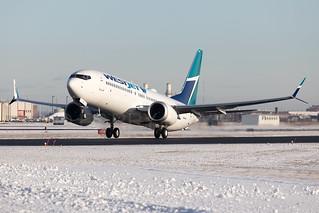 Westjet Boeing 737-MAX8 C-GRAX