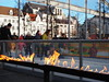 Fire and Ice [Explore 27/12/2017] (jdel5978) Tags: iceskating patinage ijs glace winter hiver groenplaats anvers antwerp antwerpen