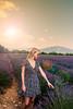 Walking through the Lavender Fields.. (alex_shim) Tags: lavender nature walk portrait fuji xt2xt2 france purple sunsetyellow orange
