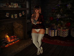 & None for Gretchen Weiners - full (Suki Pelazzi) Tags: pm christmas reign rsw swallow teefy trompeloeil truth secondlife sl avatar mesh bento maitreya laq home decor furniture decorating holidays