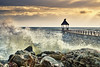 _DSC0829_1 (silviu_z) Tags: splash clouds sunset sundown sony ilce7rm3 silviu zlot balchik nature outdoor waves rocks stone sunlight