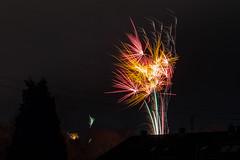 Firework (Jana`s pics) Tags: lights fireworks raketen feuerwerk lichter neujahr newyear party shiny leuchtend funkeln funken night nacht dark dunkel langzeitbelichtung lzb