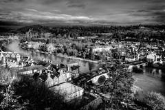 Bridgnorth Lowtown (mdavies149) Tags: bridgnorth lowtown riversevern rivers water landscape blackandwhite mono monochrome england nikon d600 michaeldavies towns shropshire