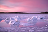 Ice Forms (Steve Bosselman) Tags: snow ice frozen cold twilight capecod