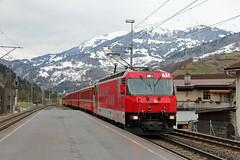 RhB 651, Schiers, 26-11-17 (afc45014) Tags: rhb 651 schiers ge44 rhätischebahn