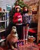 Merry Christmas from Max, Juno and Baxter (Elrenia_Greenleaf) Tags: maxandjuno baxter barbie custombarbie poseableartdoll dolldiorama barbiediorama christmas