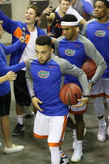 IMG_7455 Chris Chiozza 11 & Kasey Hill 0 (dbadair) Tags: secbasketballspidersgatorsfloridarichmondgainesville gainesville florida unitedstates uf gators sec basketball ncaa o'connell center
