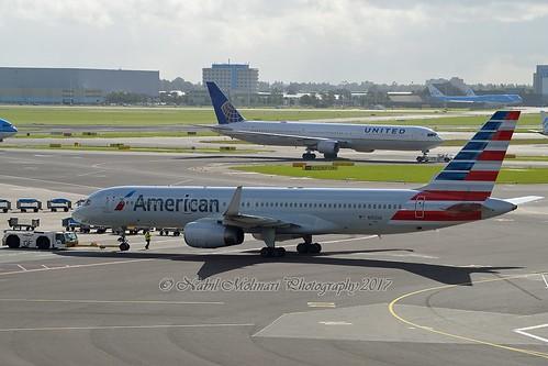 "American Airlines N192AN Boeing 757-223 Winglets cn/32386-979 ""5FB"" @ EHAM / AMS 12-09-2017"