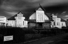 Garston Library, Liverpool (ronramstew) Tags: liverpool merseyside garston library shelmerdine architect building 1908 listed gradell artsandcrafts
