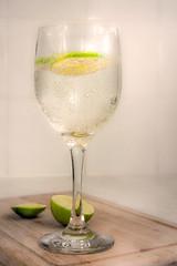 lime.2 (Jez22) Tags: lime sparkling water copyright jeremysage glass fruit citrus