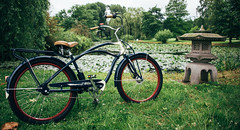 New Bike (Javier Pimentel) Tags: cruiserbike electrabikeshamburg hamburgo superdeluxe electrabikes bicicleta cruiser bycicle hamburg alemania de
