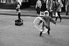 Chasing Bubbles (michael.mu) Tags: leica m240 50mm leicaaposummicronm50mmf2 neworleans streetphotography play outdoor child bubble frenchquarter bw blackandwhite monochrome