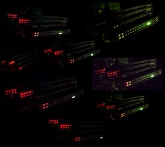 Light Bars Collage (jalexartis) Tags: nightphotography night nightshots dark