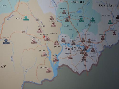 Kon Tum et les différentes minorités présentes dans sa région