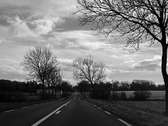 Route Nationale B/W