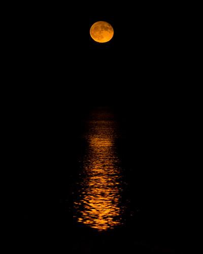 Månuppgången över Dalskär