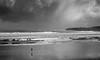 Tormenta en el horizonte (Jaime Martin Fotografia) Tags: gijon nature blancoynegro bw sea cantabrico asturias beach