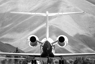 Private Jets, Sun Valley Airport, Allen & Company 2015