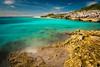 The Point at Half Moon Cay (CanonDLee) Tags: bahamas beach cay half halfmooncay island little longexposure moon ocean salvador san sea shore sky water