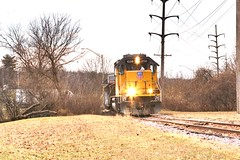 Loves Park, Il (Laurence's Pictures) Tags: union pacific cnw chicago northwestern cgu rockford illinois transportation freight rail emd railway railroad locomotive