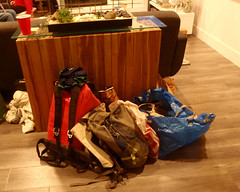 024 Done With The Climbing Gear (saschmitz_earthlink_net) Tags: 2017 california southerncaliforniagrotto christmasparty losangelescounty baldwinhills windsorhills party climbing practice