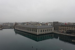 Bâtiment des Forces Motrices @ Panoramic viewpoint @ Quai du Seujet @ Geneva (*_*) Tags: december christmas 2017 hiver winter europe geneva city switzerland suisse genève panoramicviewpoint quaiduseujet panorama height rhone viewpoint vue pointdevue