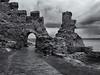 Tintagel castle (Tim Ravenscroft) Tags: castle tintagel cornwall england hasselblad hasselbladx1d x1d blackandwhite blackwhite
