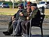 Old friends (Domènec Ventosa Pascual) Tags: amigos abuelos hombres conversación plaza historias friends grandparents mens conversation square stories
