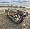 Painted boat @ Meols on The Wirral Penninsular (lovestruck.) Tags: painted coastal sea thewirral boat meols